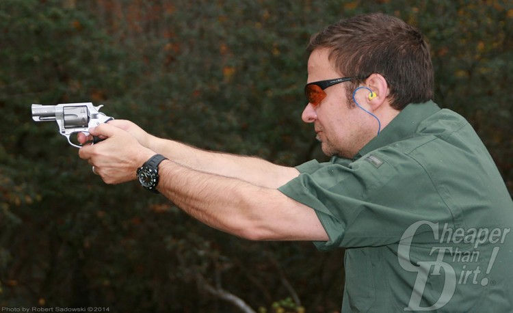 Charter Arms 9mm Pit Bull / Shooter showing Left Action