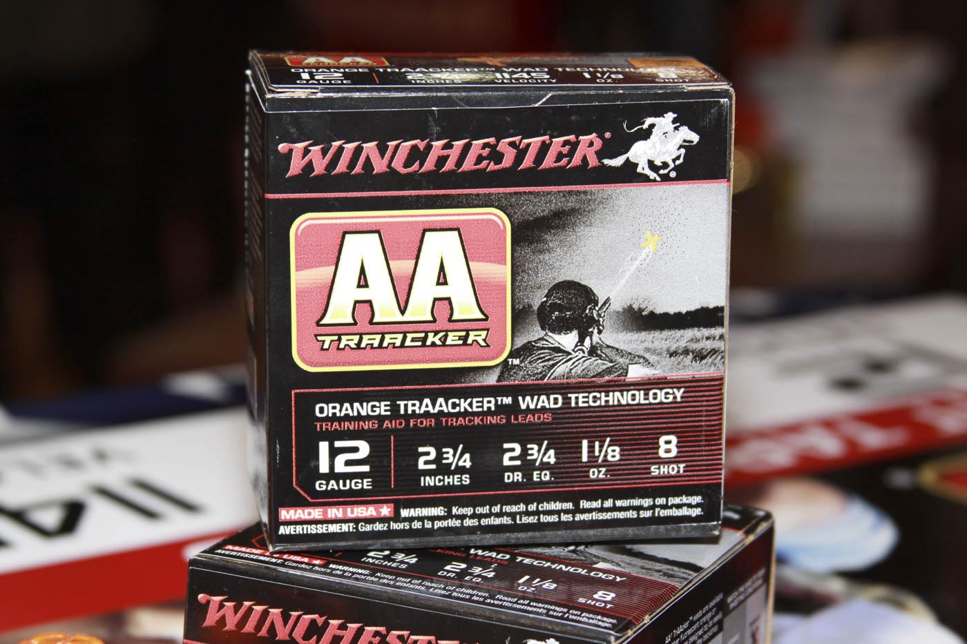 Winchester AA TrAAcker 12 gauge shotgun ammo box