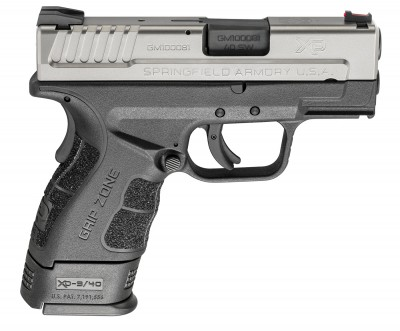 Springfield XD Mod.2 in .40 S&W with X-Tension Magazine
