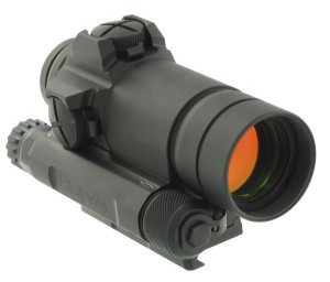Aimpoint Comp M4 Riflescope quartering righthand view