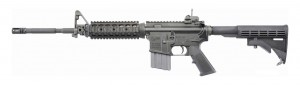 Colt LE6920 Socom ar-15 rifle black left side profile view