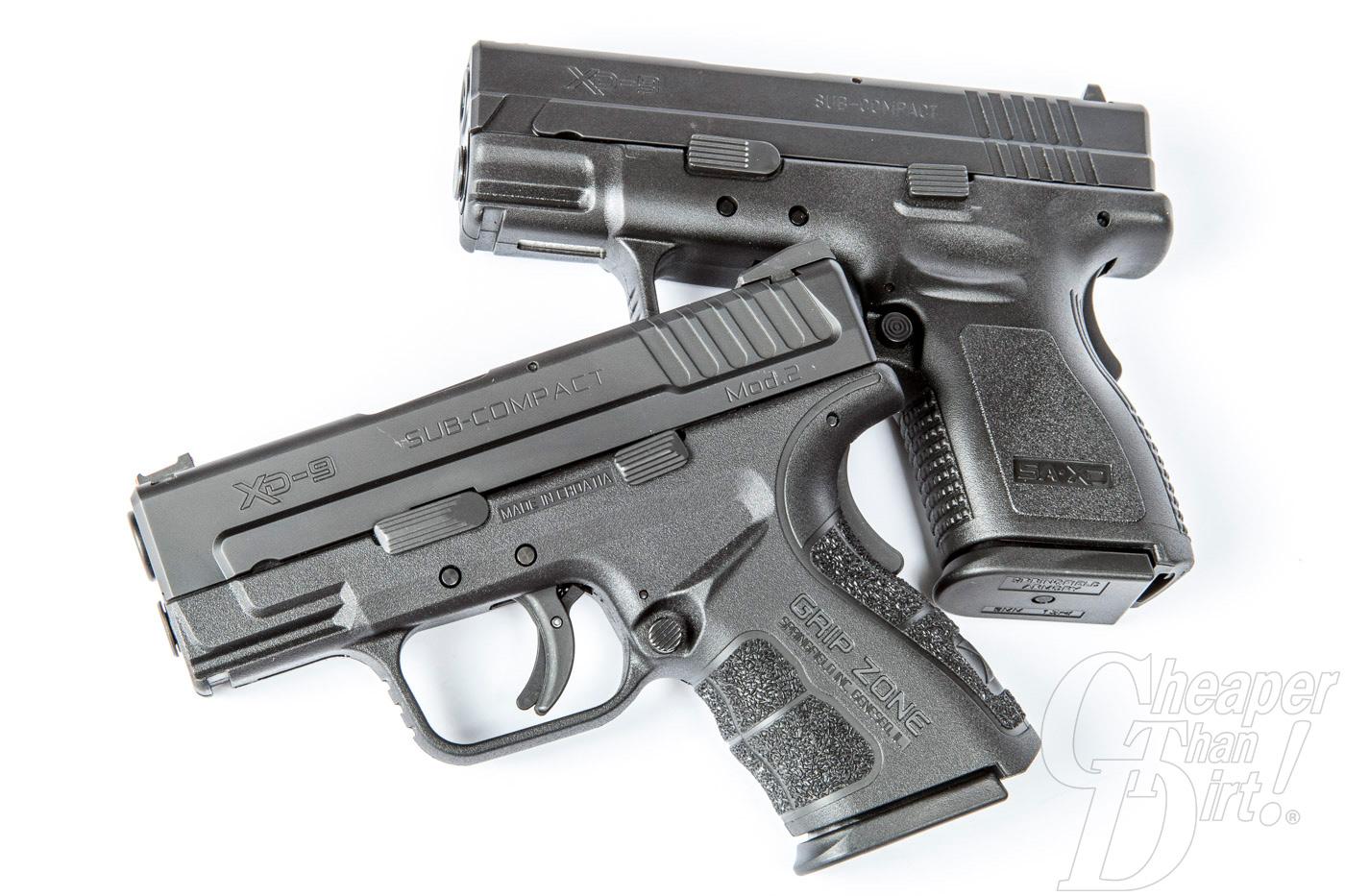 Springfield xd Mod 2 Subcompact 9mm Shot 2015—springfield xd Mod.2