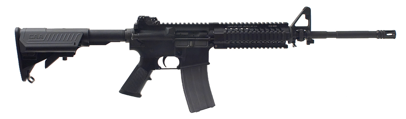 Stag Model 2T Ar-15 black right side profile