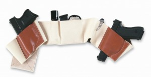 Nude colored belly band holster