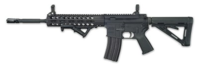 Windham Weaponry CDI AR-15 rifle black left side profile
