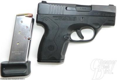 Black Beretta NANO and magazine