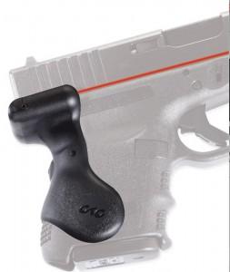 Black Crimson Trace red laser