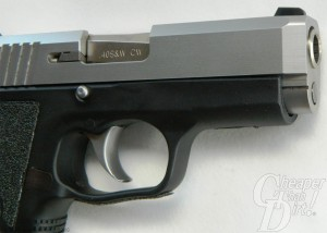 Kahr CW40 with Beveled Slide