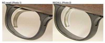 Remington Model 700 Model Seven Trigger Recall