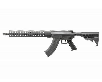 CMMG Mutant AR-15 style platform rifle that accepts AK-47 magazines