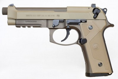 Cerakote flat dark earth finished Beretta M9A3