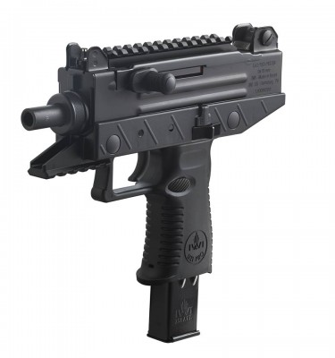 The IWI Uzi Pro Pistol is chambered in 9mm.