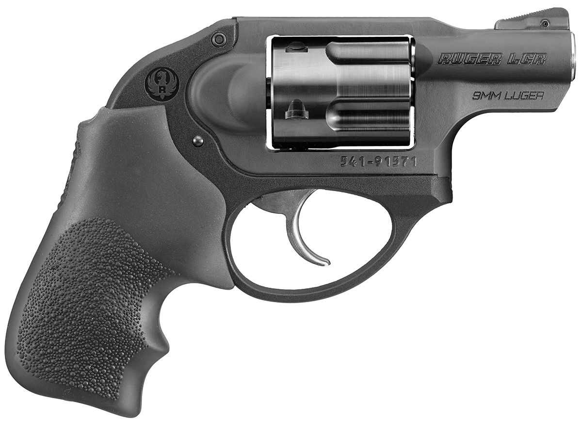 Ruger LCR 9mm right