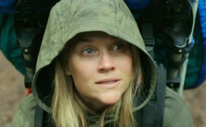 Image of Resse Witherspoon wearing a poncho from the movie, Wild.