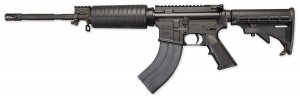Windham Weaponary black rifle chambered in 7.62x39mm