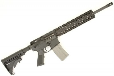 Bravo Company MIL-SPEC black AR-15 rifle