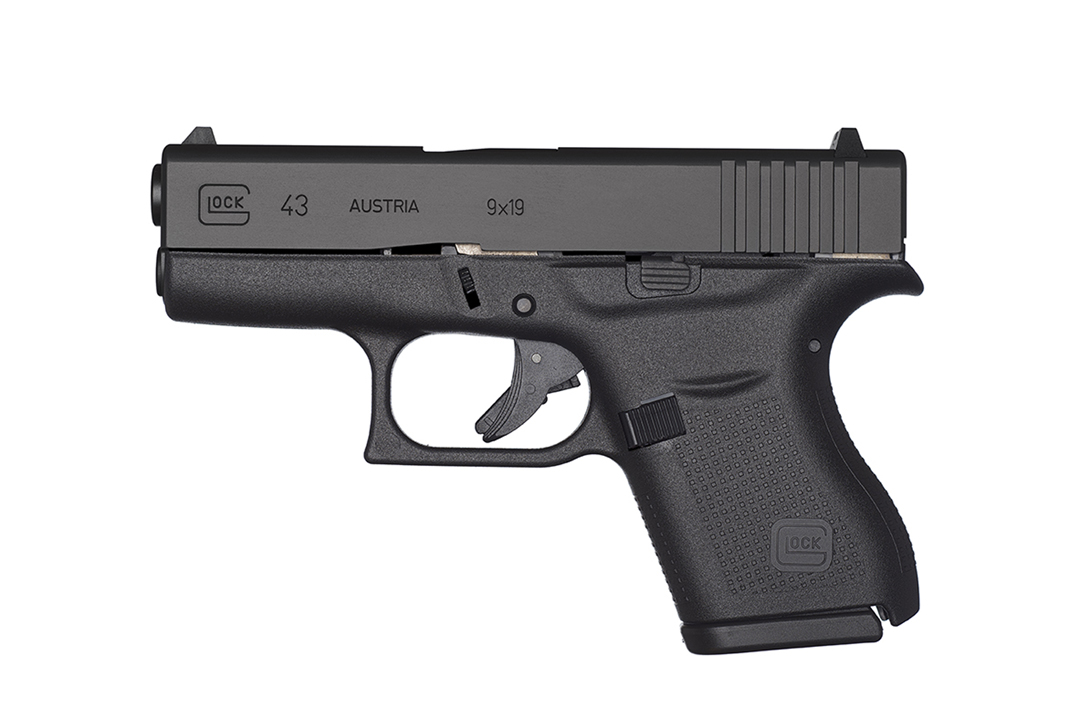 Glock G43 left side
