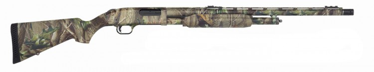 Mossberg 500 Turkey shotgun mossy oak camo right side