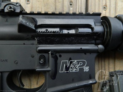 Smith and wesson m&p 15 receiver