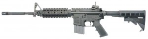 Colt LE6920 SOCOM AR-15 rifle with Troy Industries handguard
