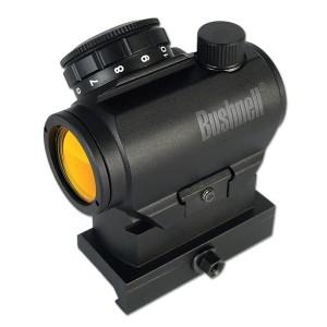 Black, Bushnell high-rise red dot sight