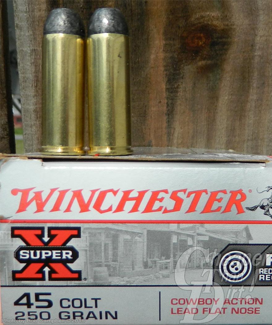 Winchester 45 colt 250 grain cartridge