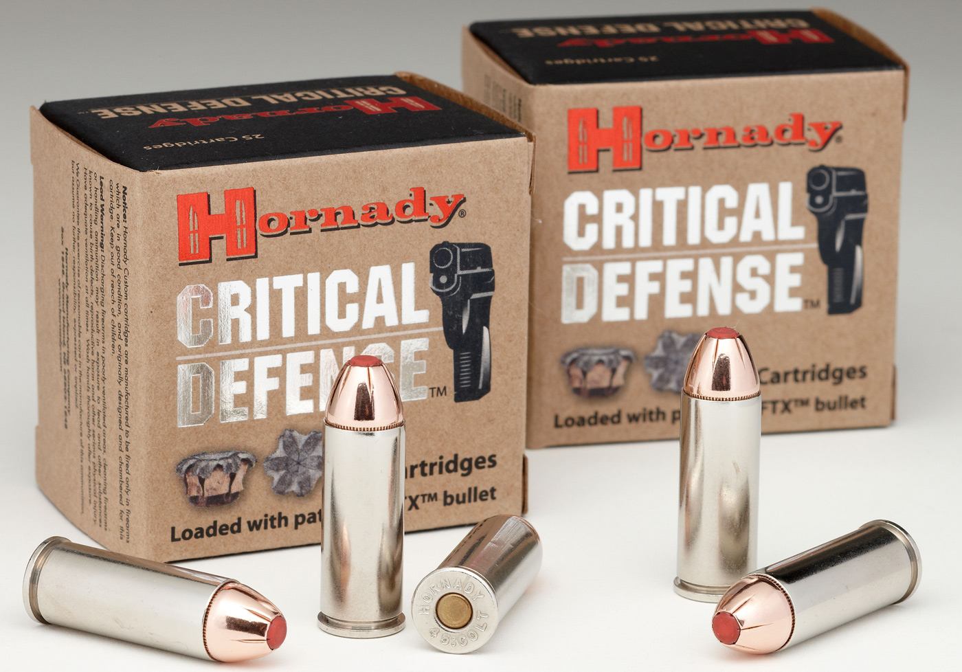 Hornady Critical Defense .45 Colt bullet