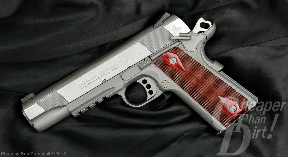 Colt Government Model 1911 pistol left side