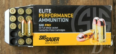 SIG Elite performance Ammunition Box