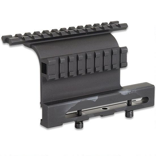 Leapers UTG AK-47 Gen 3 Double Rail Side Mount, Aluminum, Black