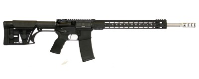 ArmaLite M-15 3-Gun rifle with KeyMod rail and LUTH-AR stock