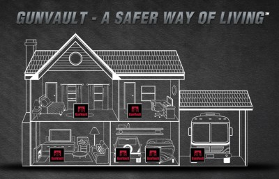 GunVault Home diagram