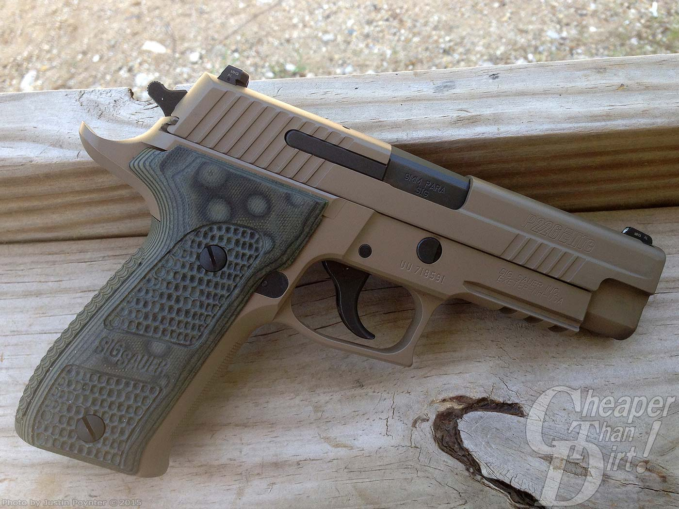 why is the sig sauer p226 scorpion such a great pistol