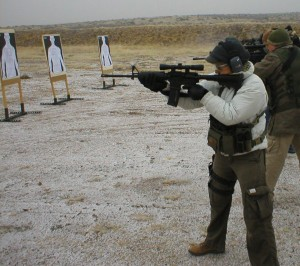 Shooting the Stag Arms 2L