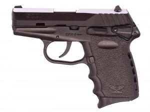 Black SCCY CPX2 handgun
