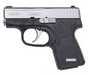 Two-toned Kahr Arms .380 pistol