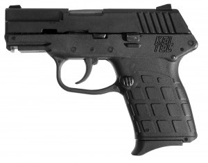 All black Kel-Tec PF-9 handgun