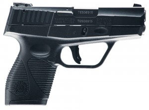 Black Taurus 709 Slim 9mm handgun