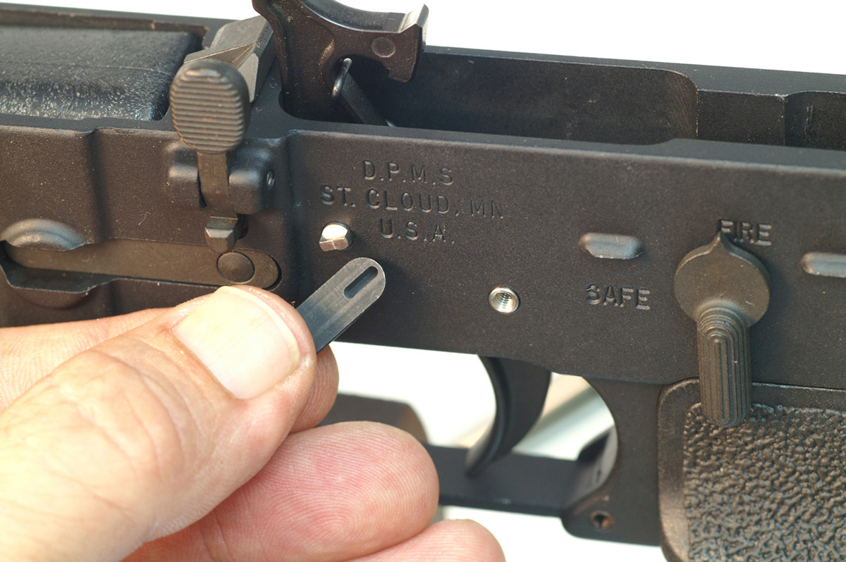 replacing the trigger assembly on an AR-15 rifle