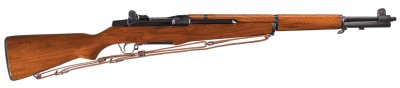 To the untrained eye and perhaps even a few Garand aficionados, JFK's M1 looks like a basic rack grade M1. Right side
