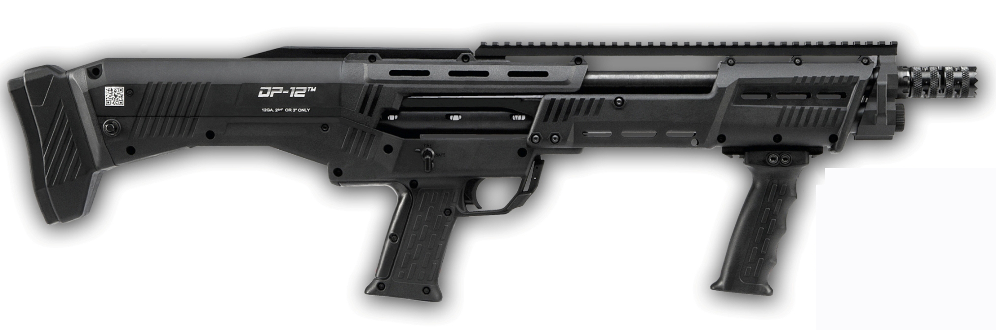 Double-barreled pump-action shotgun DP-12