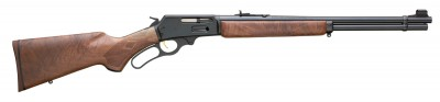 Marlin Model 336 lever-action rifle with wood stock