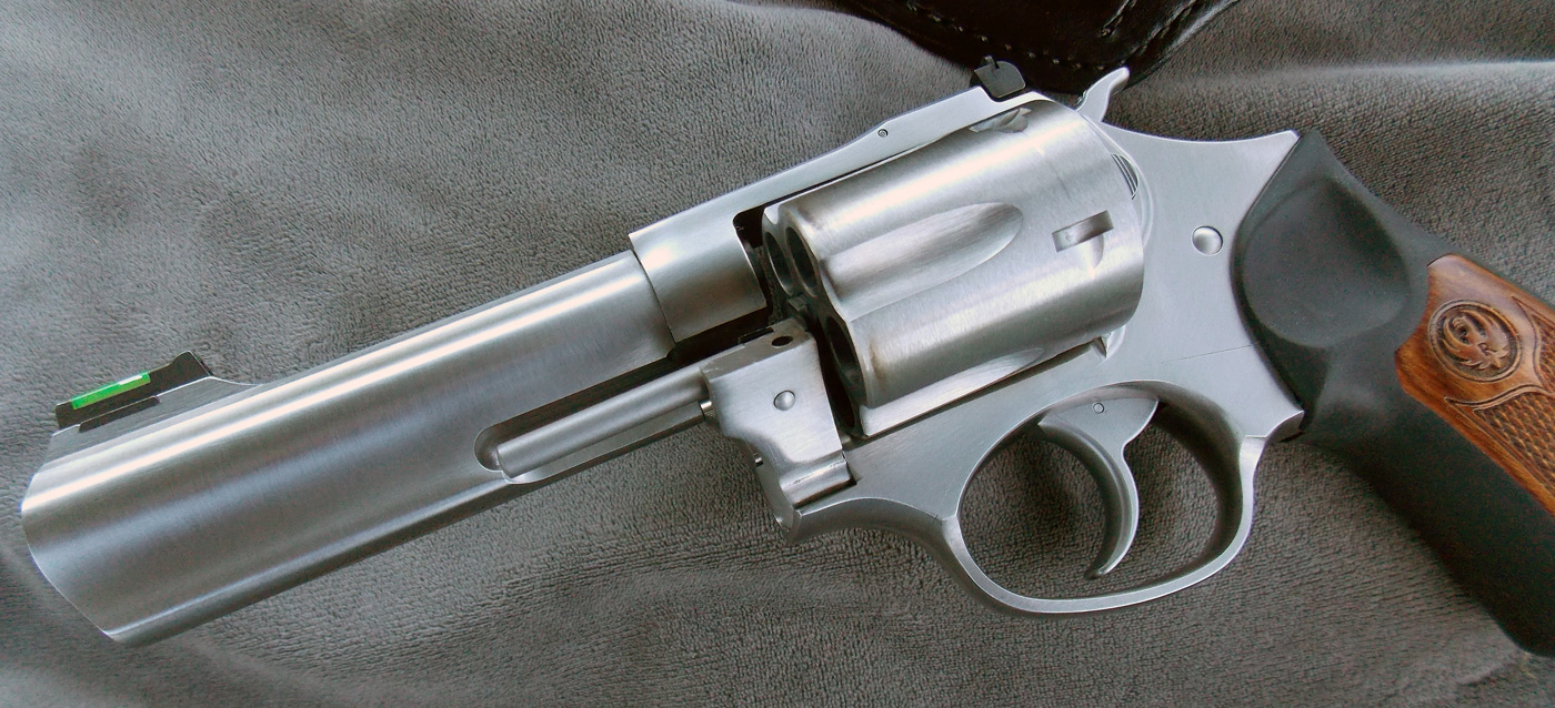 Ruger SP101 101 with cylinder partially open