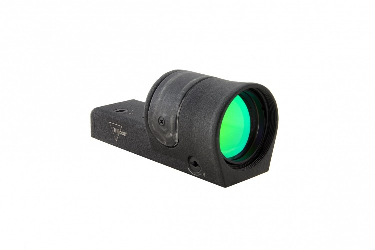 Trijicon Reflex sight with illuminated green dot