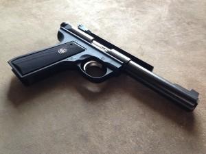 Ruger .22 pistol