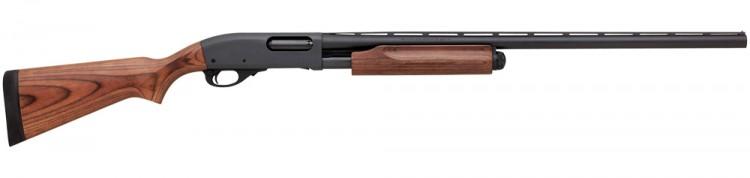 Remington model 870 shotgun with wood-look laminated stock