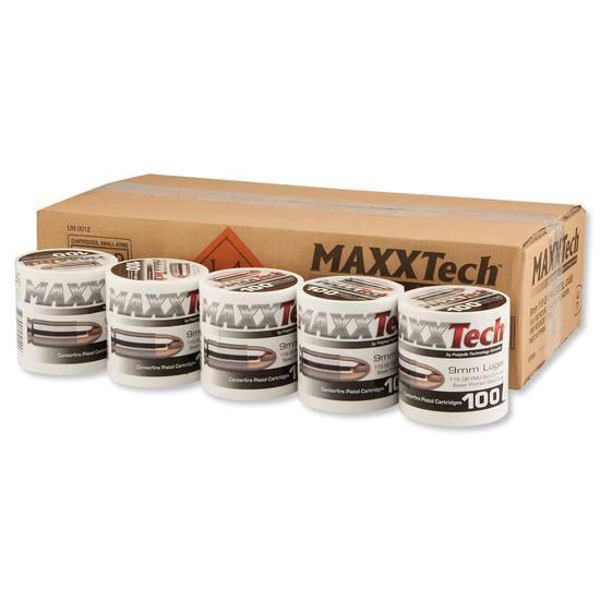 MAXXTech 9mm ammunition