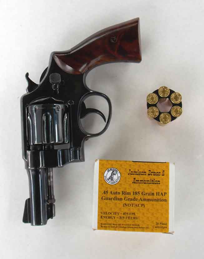 Jamison Brass Captech loads and the Smith & Wesson Model 1917