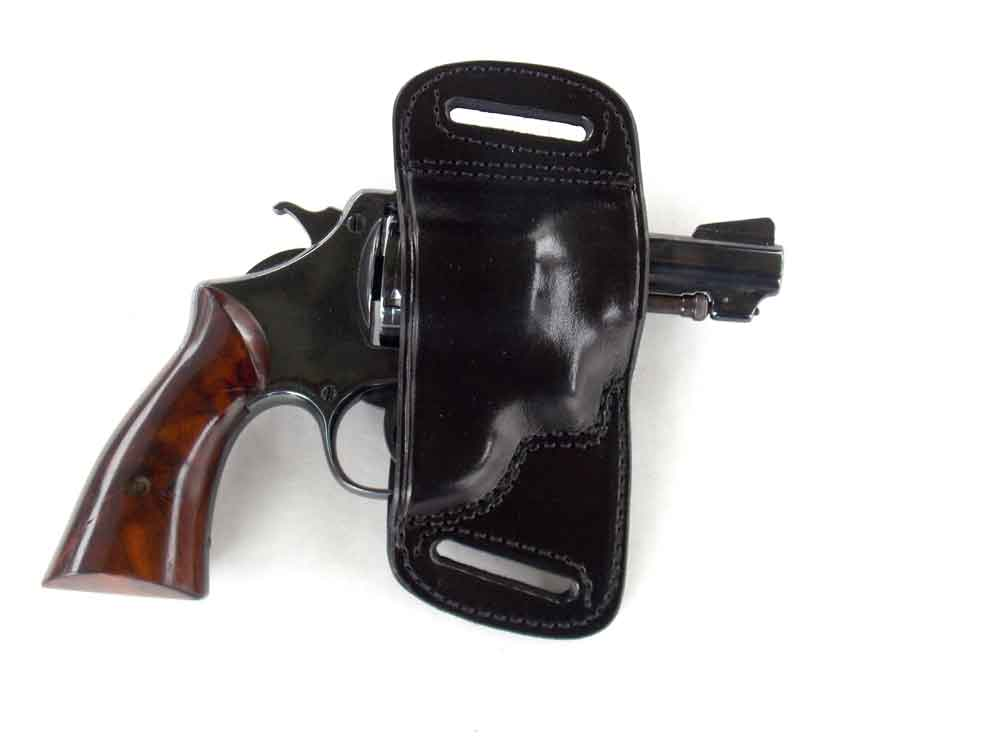 Smith & Wesson 1917 revolver in Dan Wesson Belt Slide holster