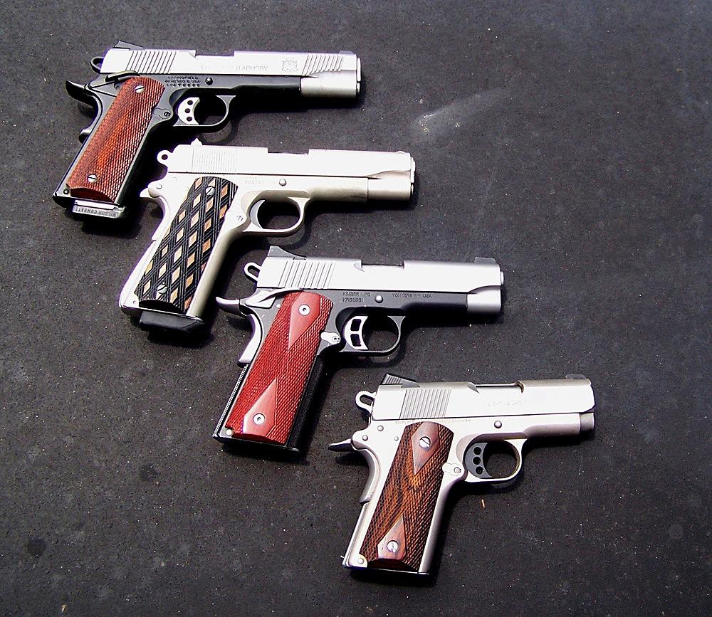 four 1911s